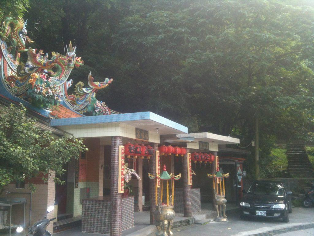 Temple in Dahu Park