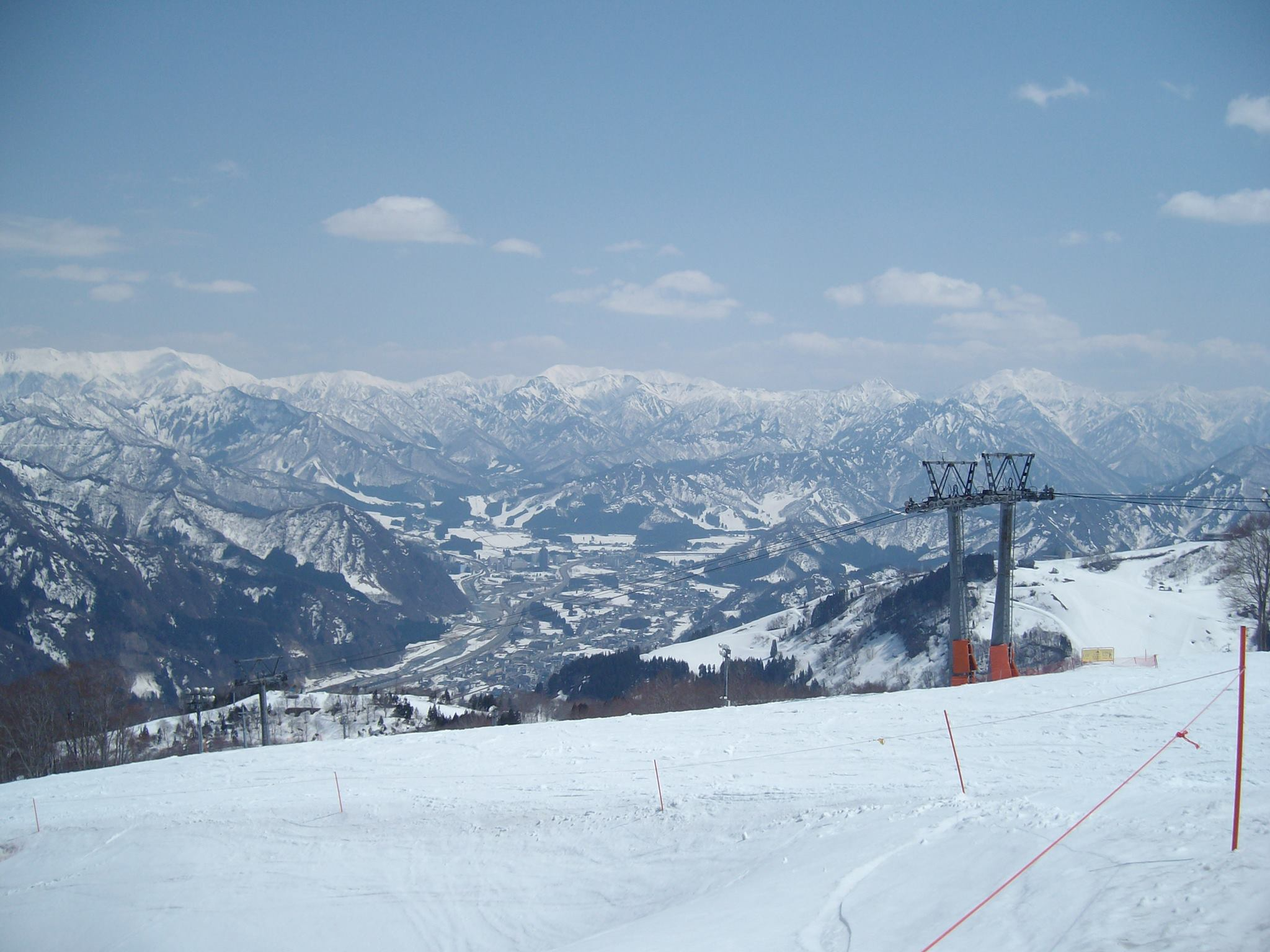 The Yuzawa valley