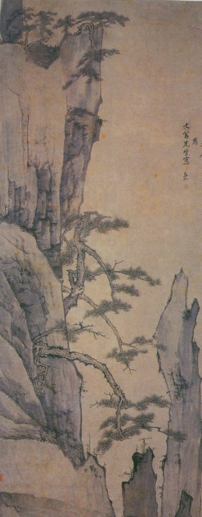 Classical painting of Huangshan