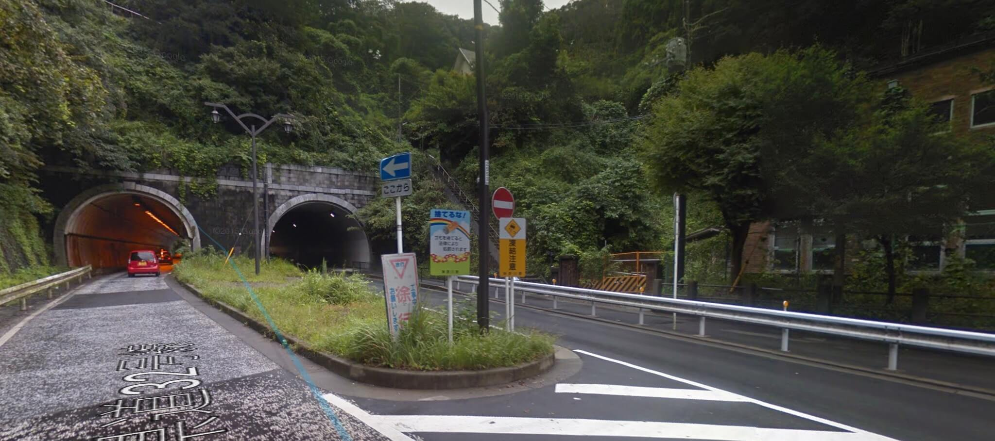 Start of the Big Buddha Kamakura hiking trail