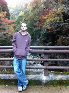 Bridge over the river near Kiyotaki