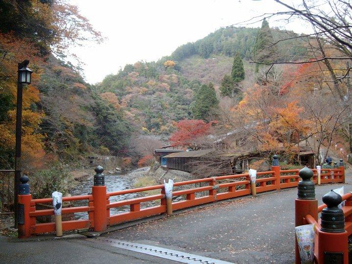 The bridge in Takao
