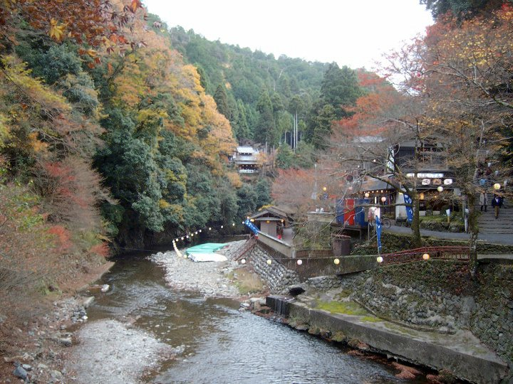 The river in Takao