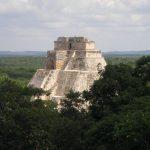The main pyramid at Uxmal