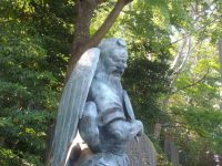 One of the many tengu at Yakuo-in temple