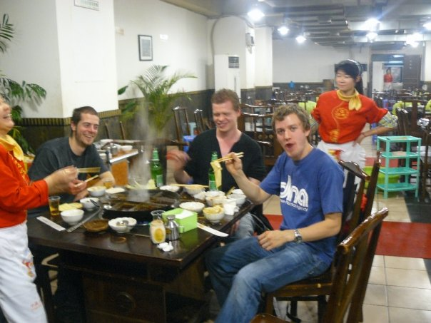 A brilliant meal in Chongqing!