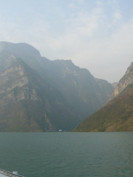 Passing through the Three Gorges
