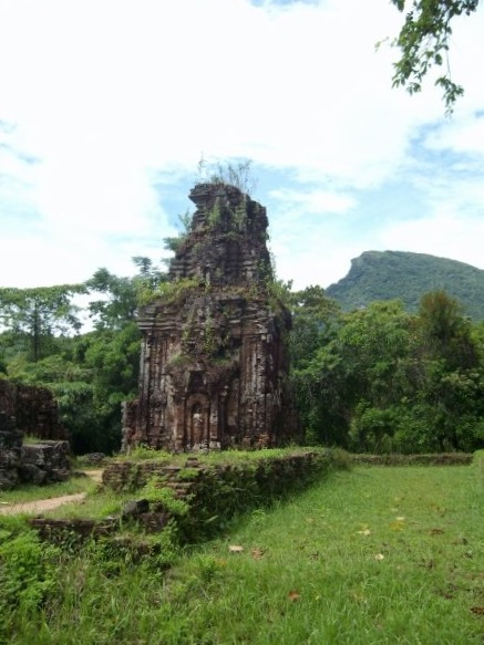The My Son ancient ruins, near Hoi An