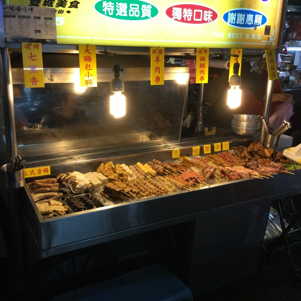 Taiwanese BBQ at Shuangcheng Night Market