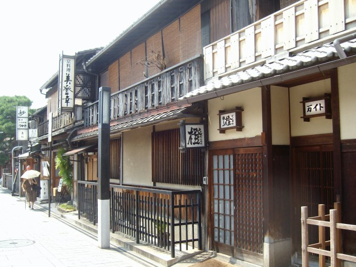 Teahouses in the Gion district