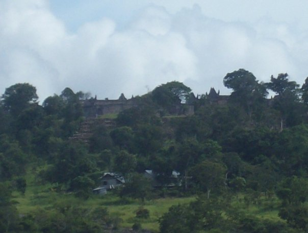 The closest I could get to Preah Vihear was this viewpoint