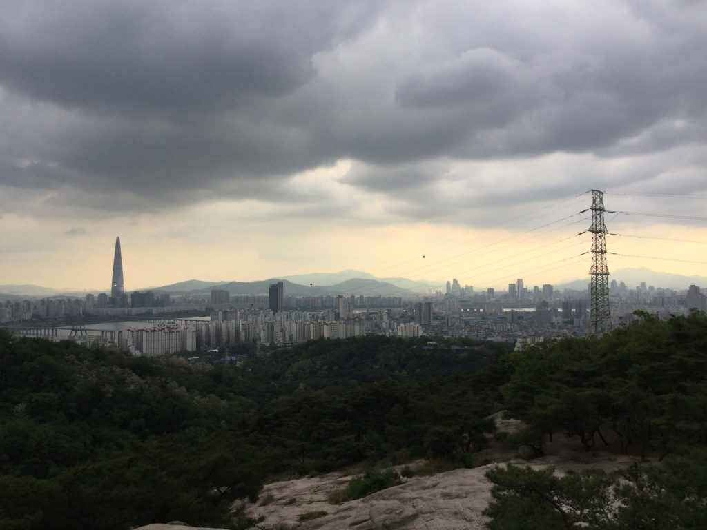 The view from Goguryeojeong Pavilion