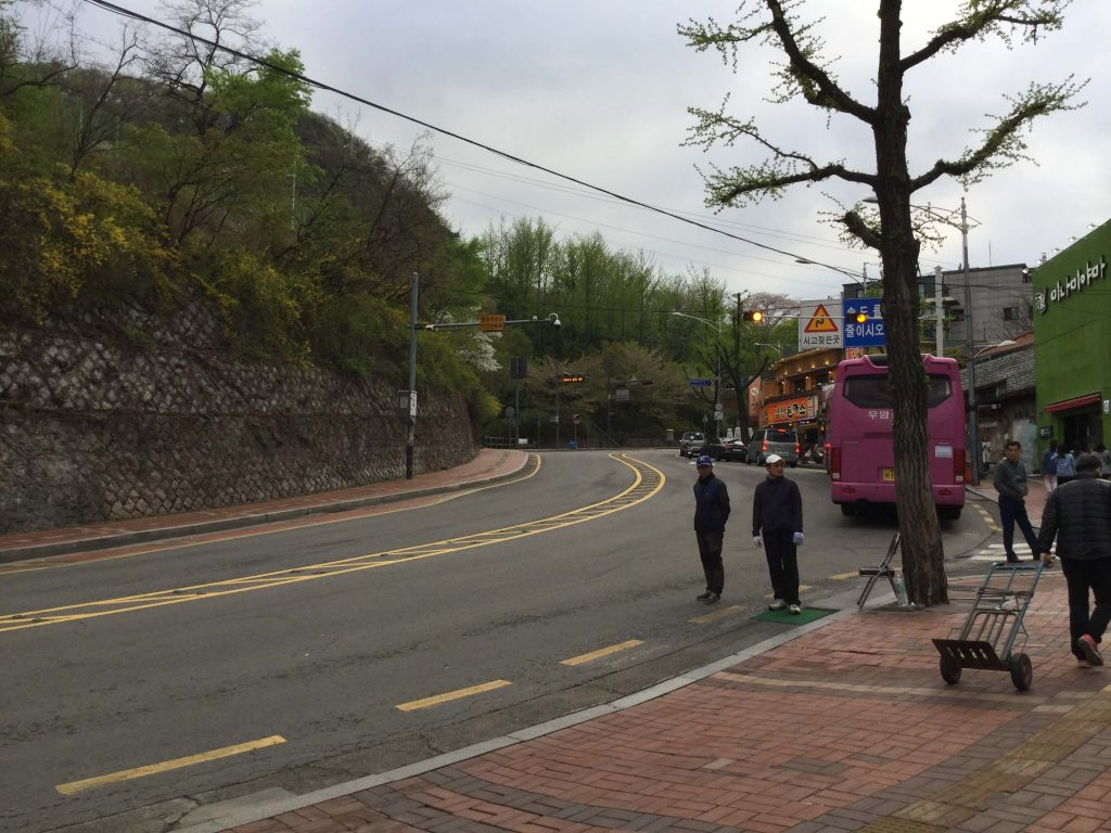 The road to Namsan
