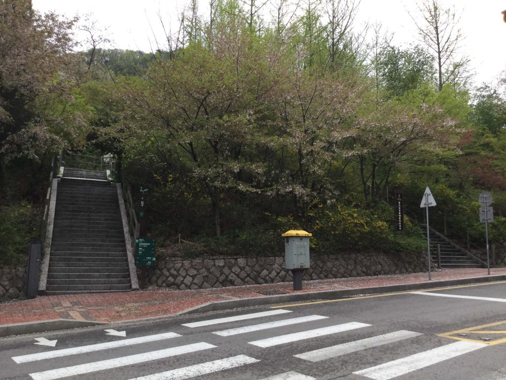 Namsan hiking trails
