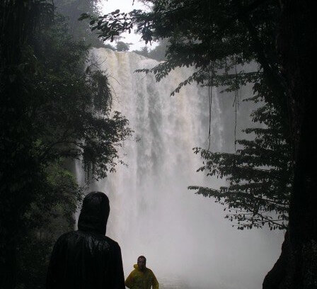 The Misol-Ha waterfall
