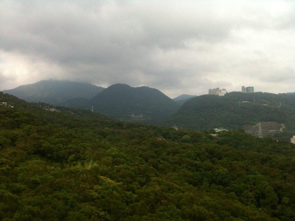 Mountain view from Battleship Rock