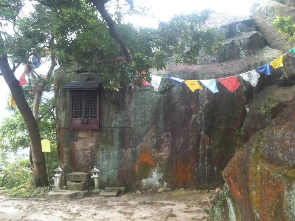 The old rock shrine