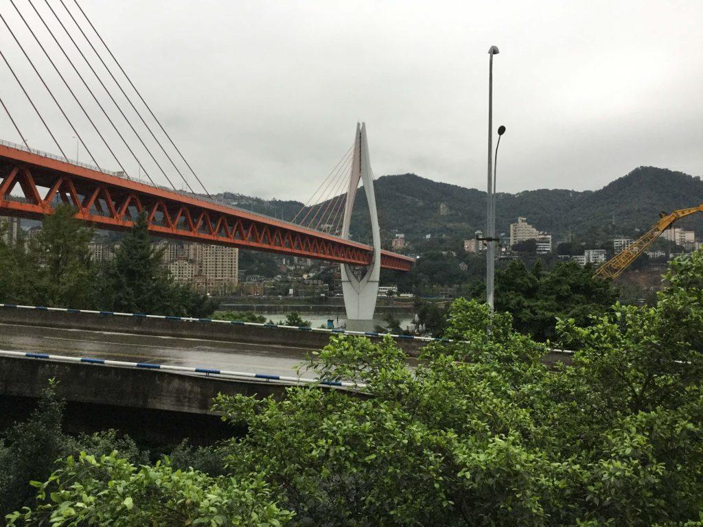 Bridge over the Yangtze, Chongqing