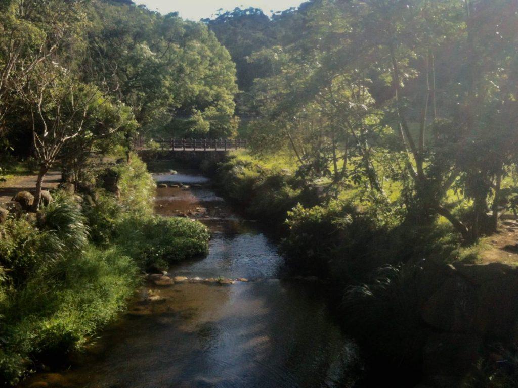 Dagou Creek Park in Neihu
