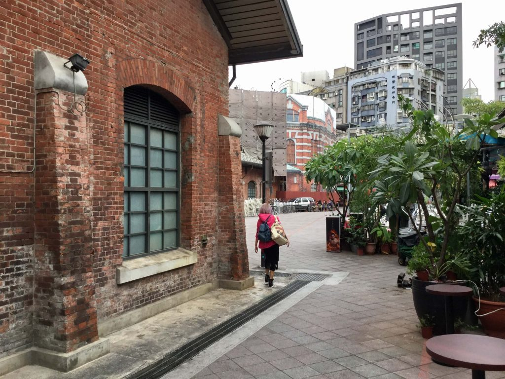 The Red House, Ximending, Taipei