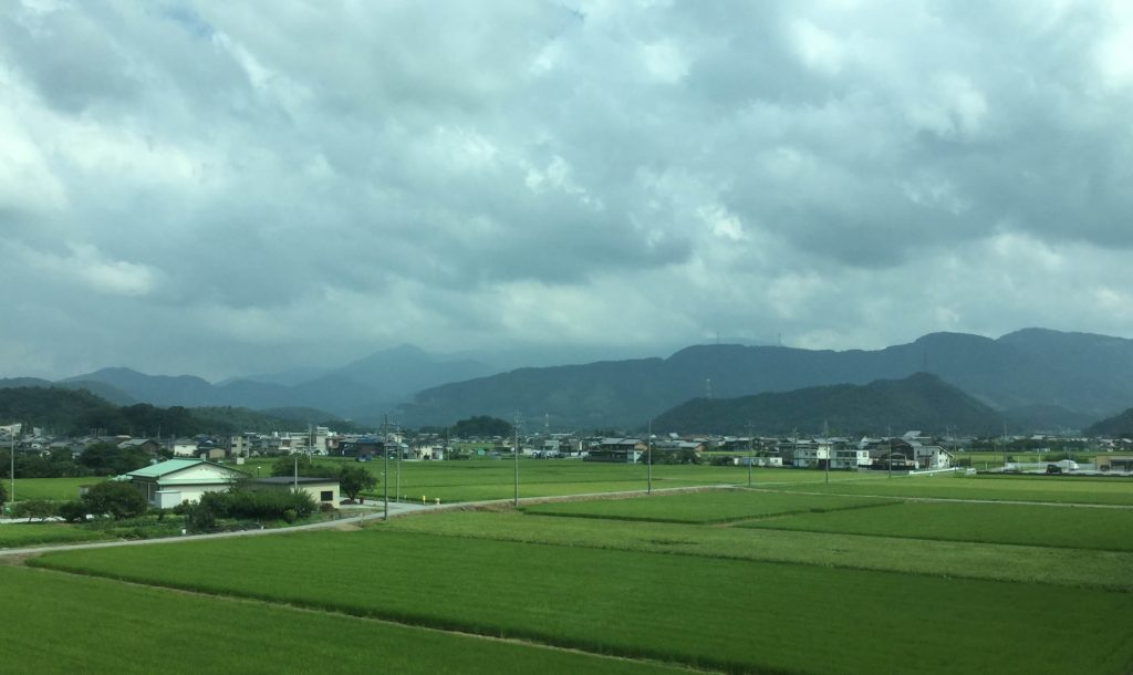 The Shiga countryside near Maibara
