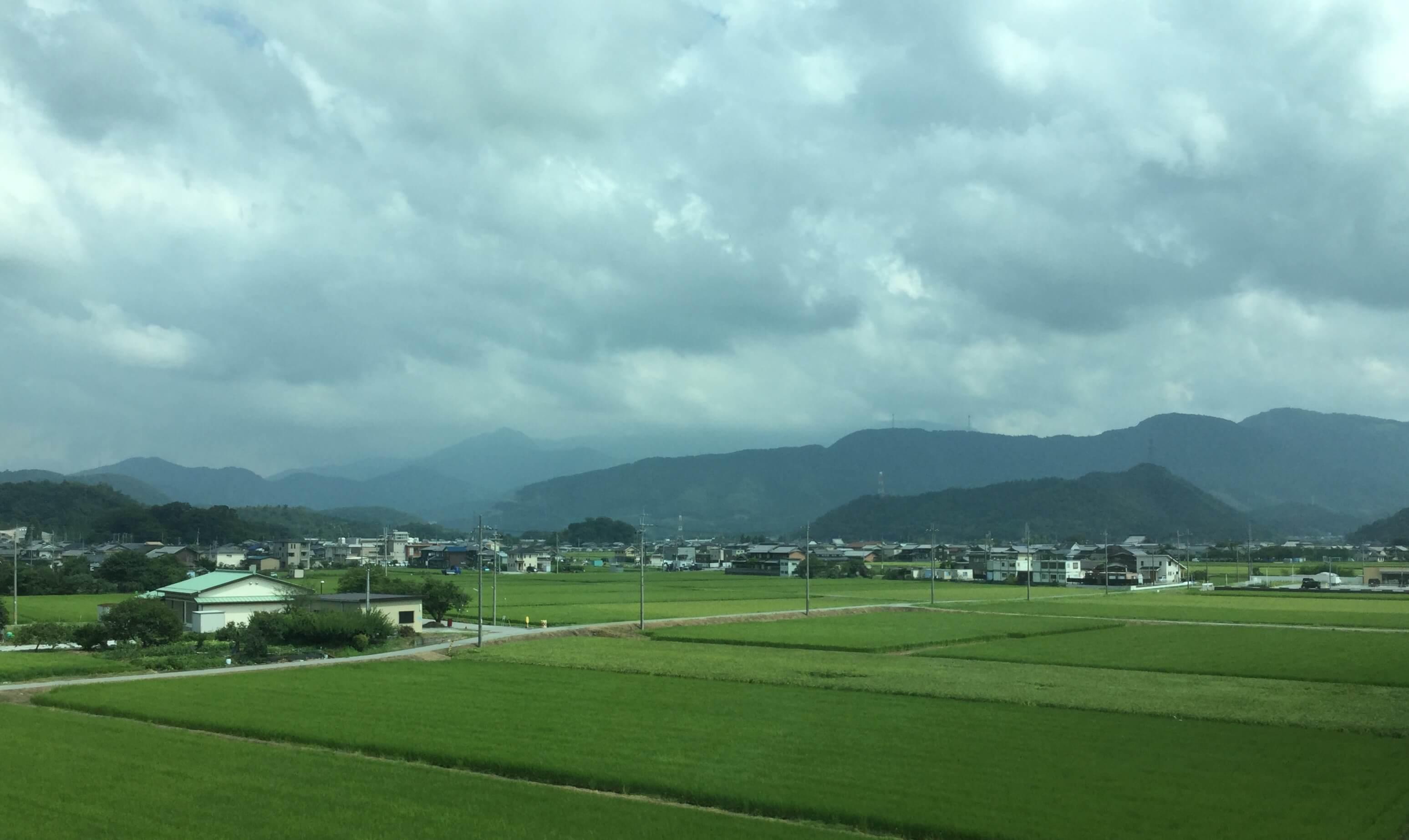 The Shiga countryside near Maibara