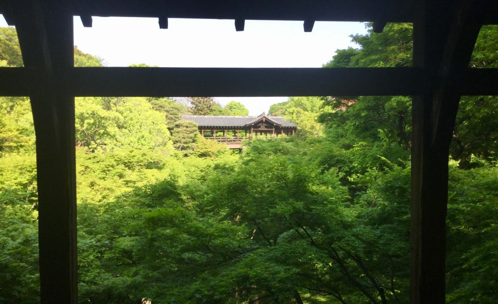 Bridge view at Tofukuji