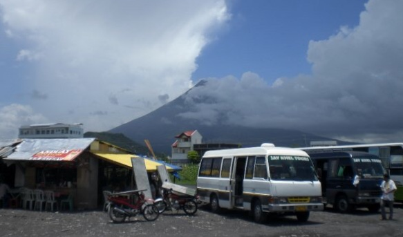 View of Mayon Volcano from Legazpi