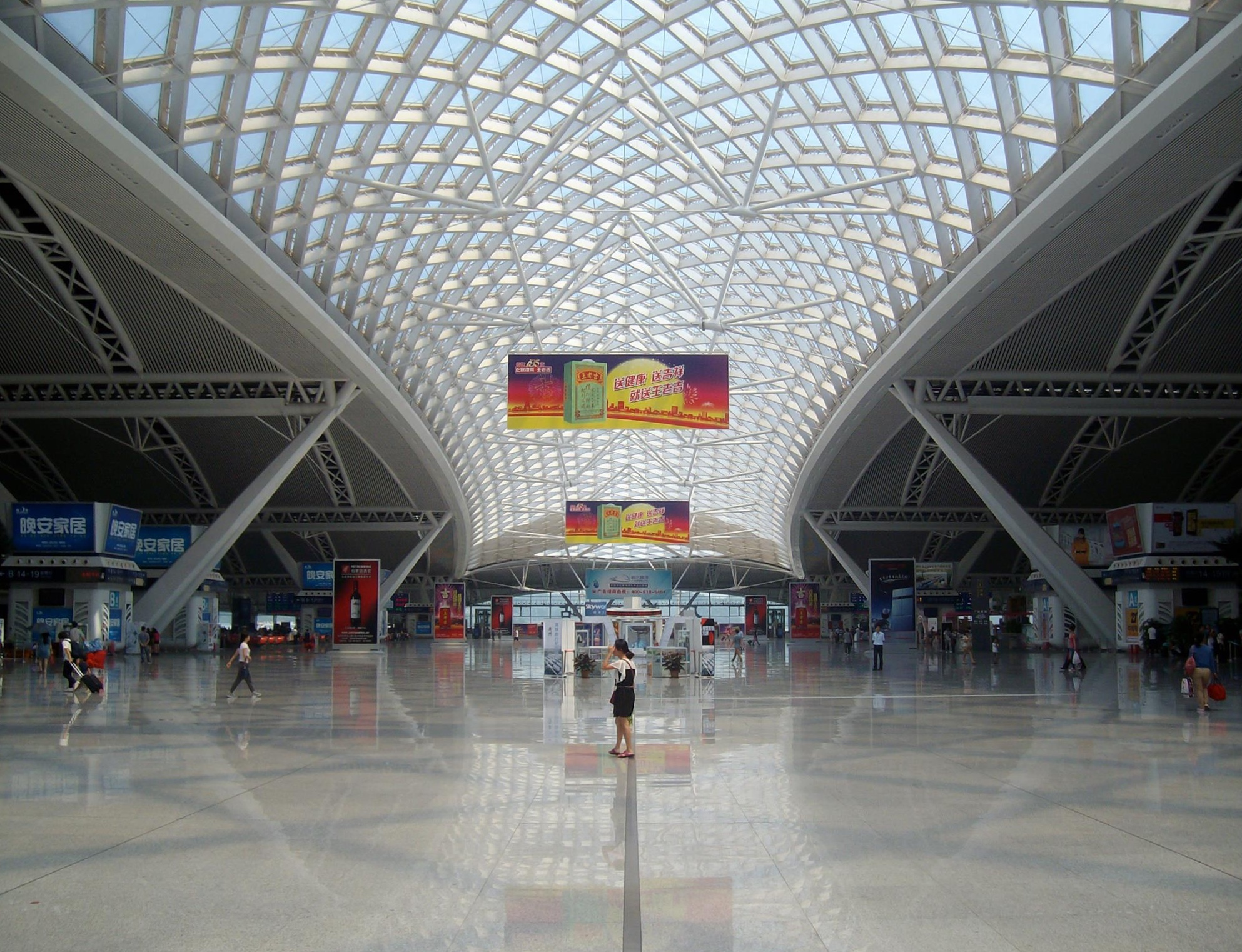 Departures hall, Guangzhou South Station