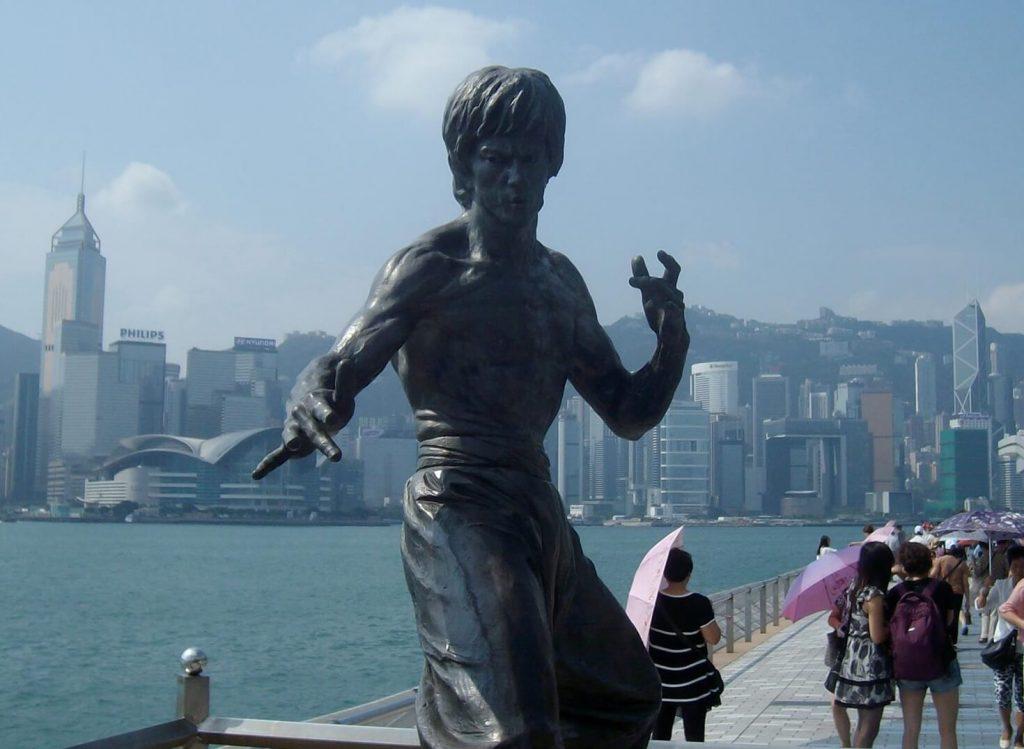 Bruce Lee statue, Avenue of Stars, Kowloon
