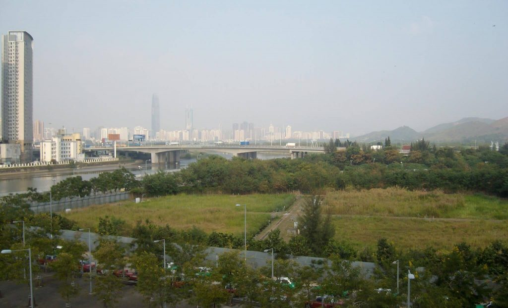 Hong Kong and Shenzhen, Futian checkpoint