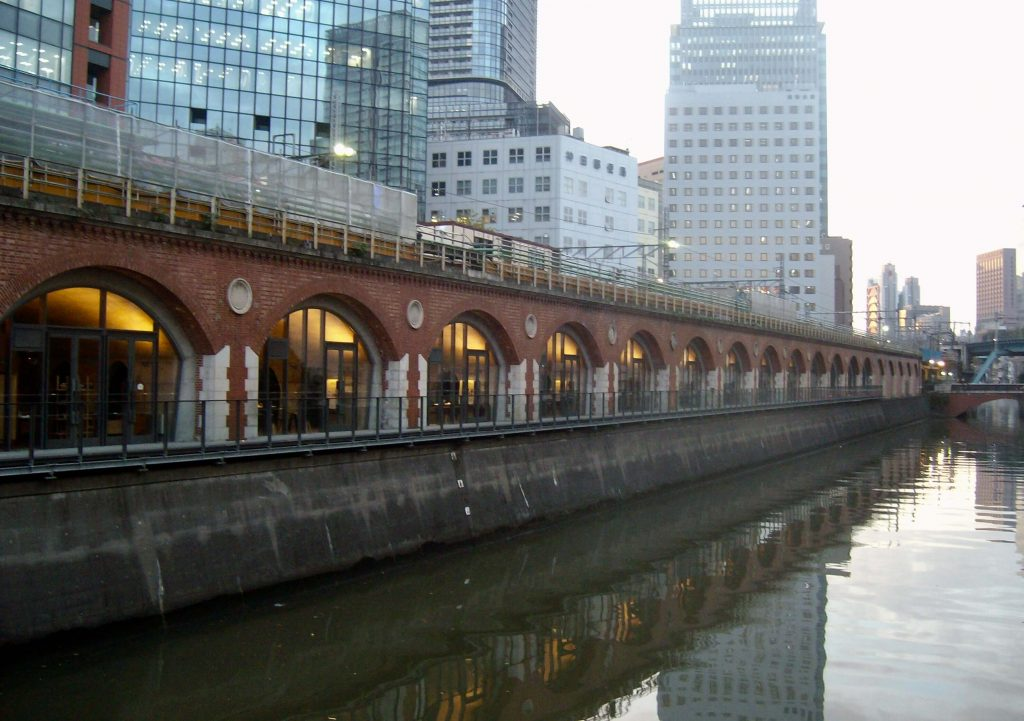 The renovated old Manseibashi Station