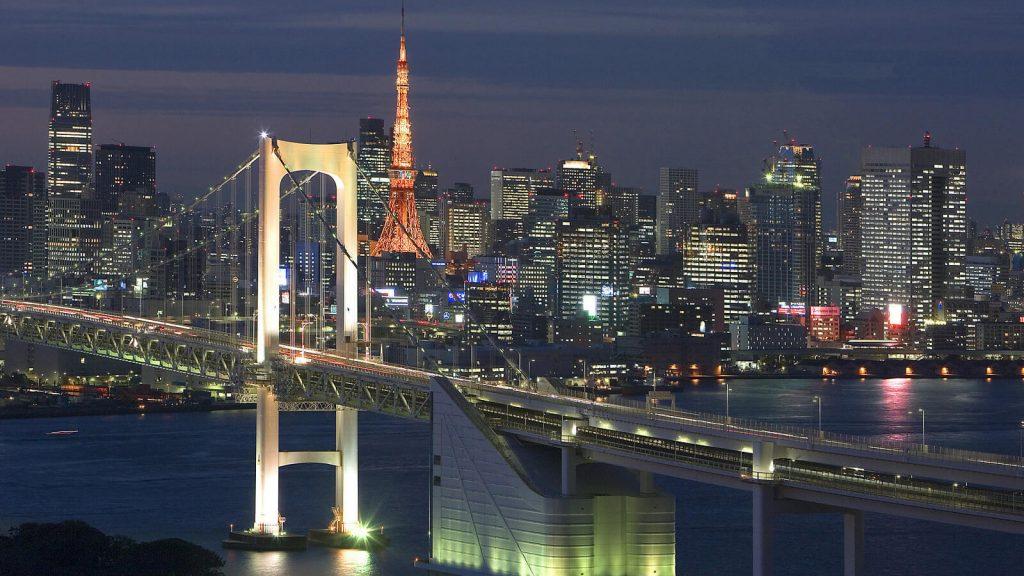 Rainbow Bridge, Tokyo Bay