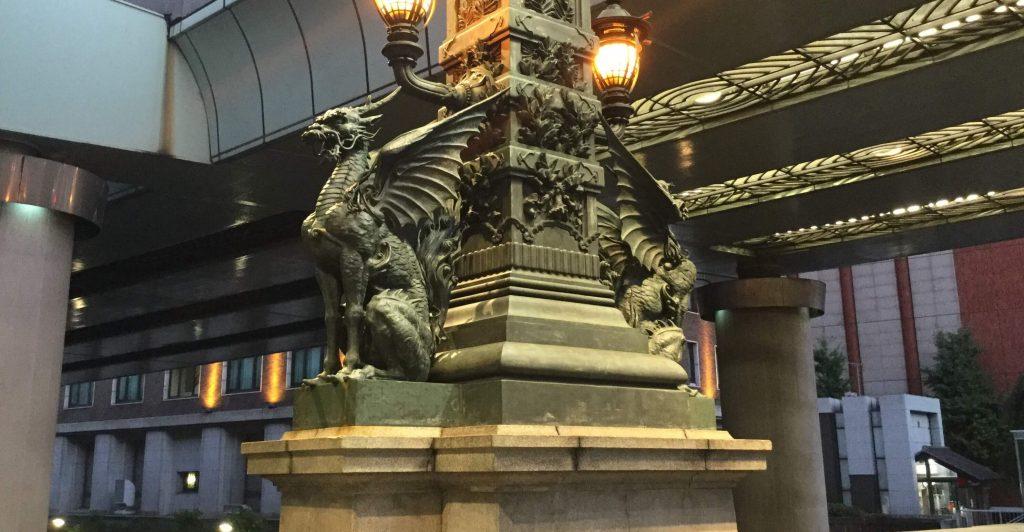 Kirin statues, Nihonbashi, Tokyo