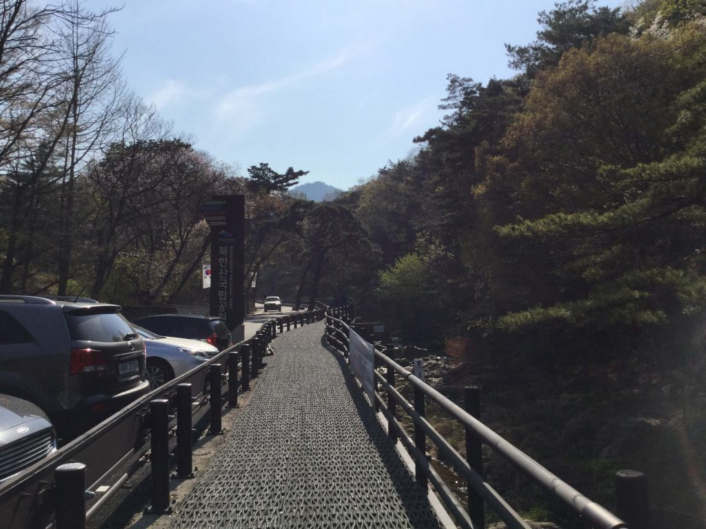 Bukhansan trail from Ui
