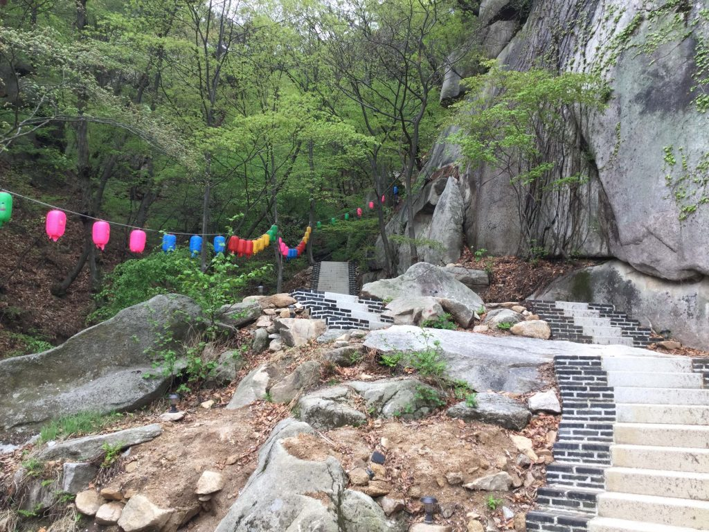 Dobongsan hiking trail