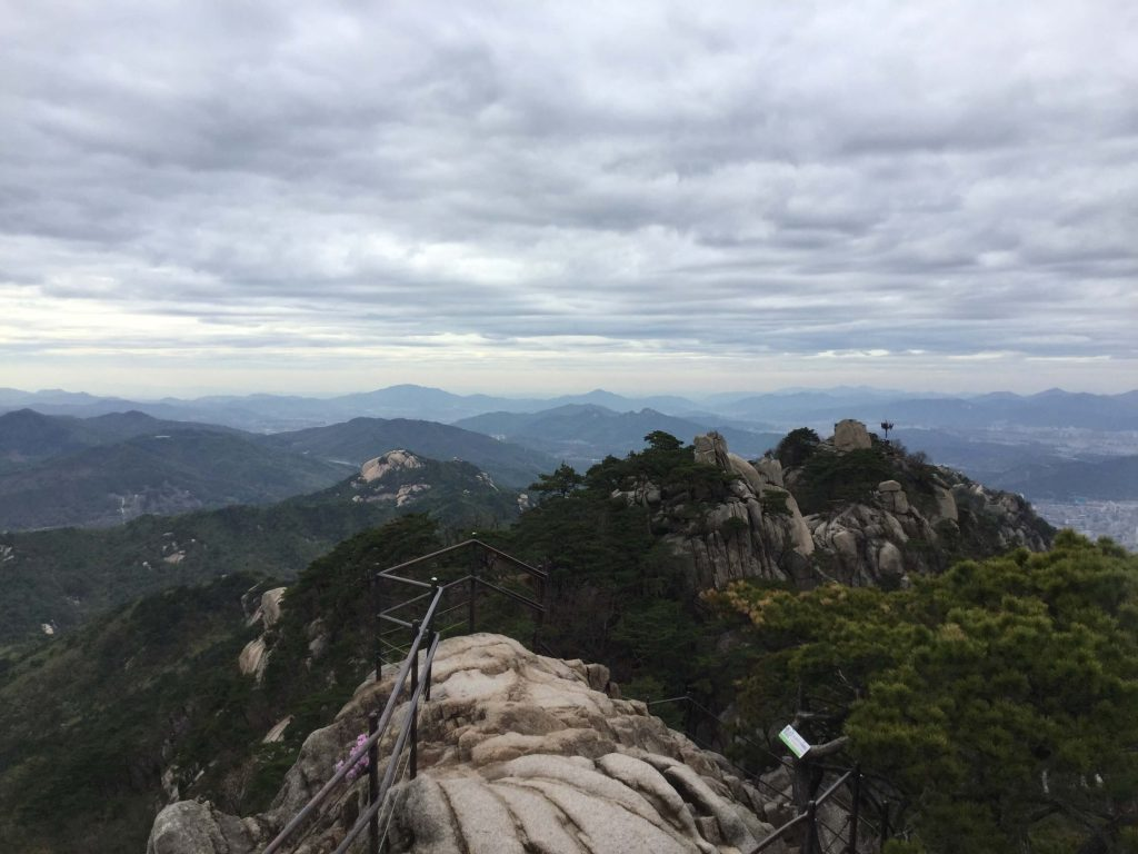 View from the top of Dobongsan