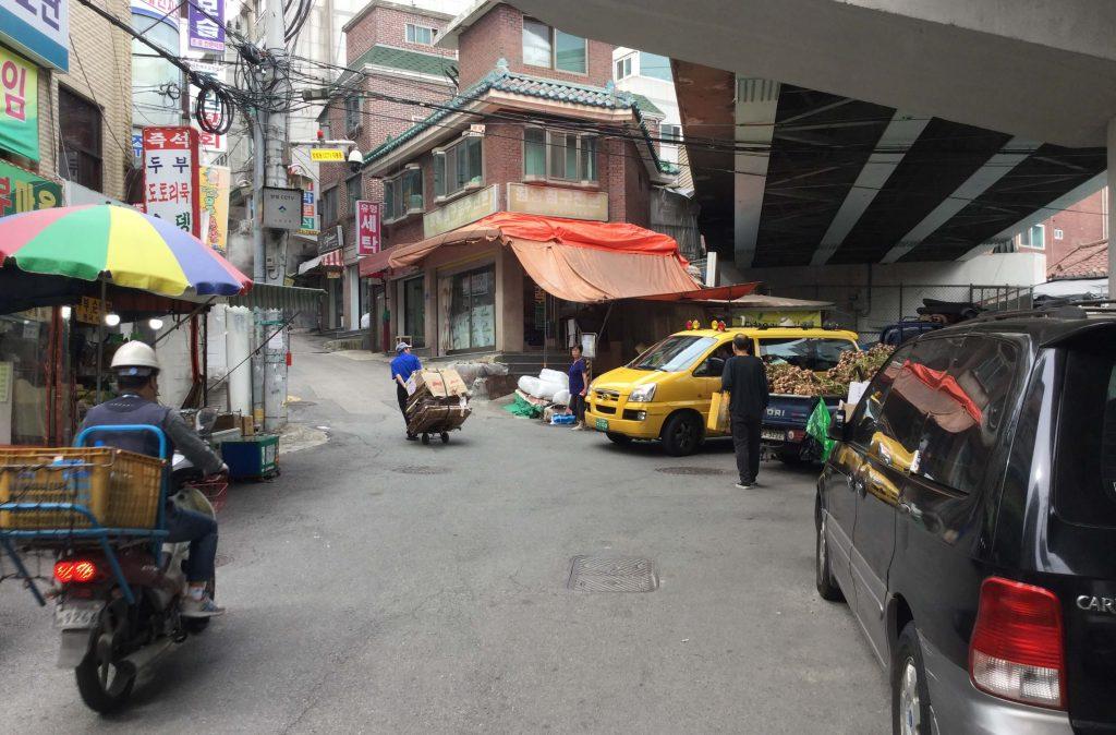 Way to Suraksan from Danggogae Station