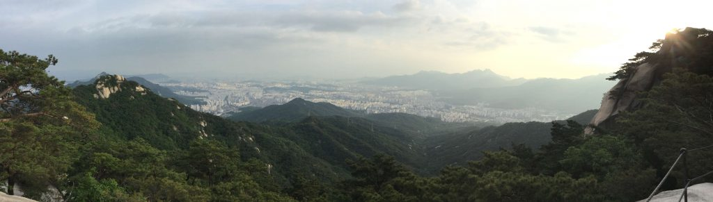 View from the top of Suraksan