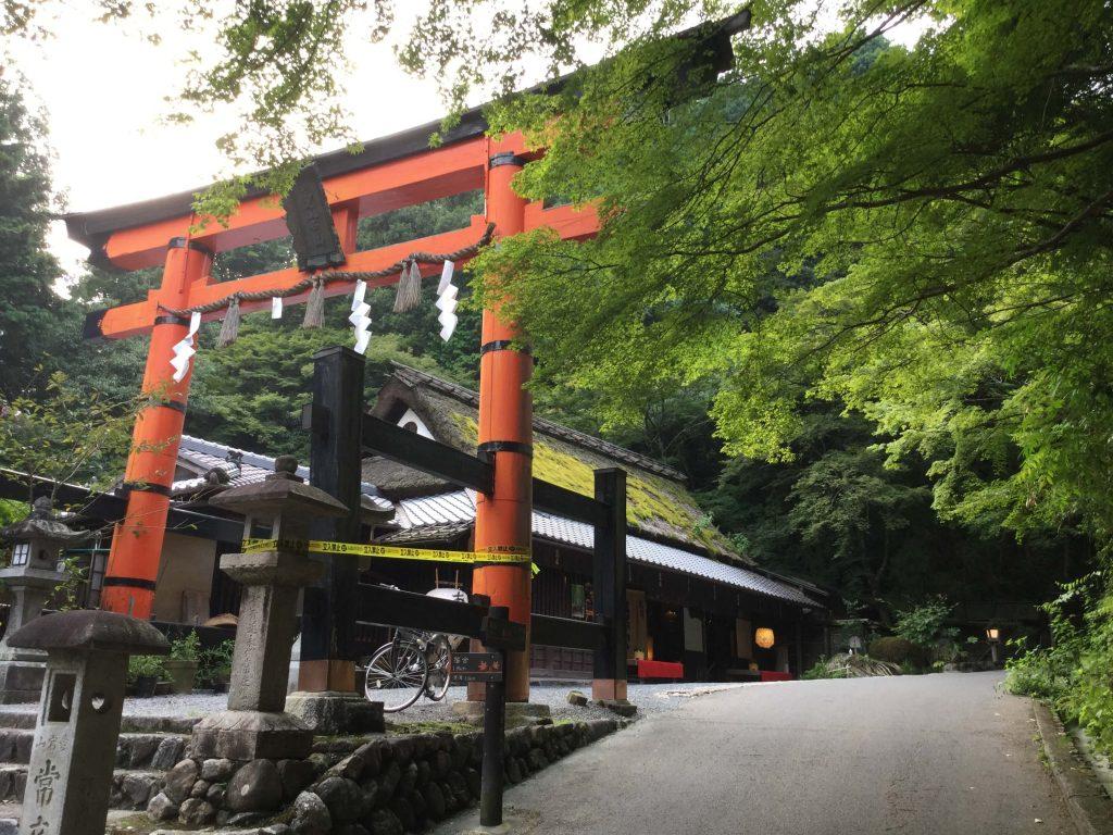 Torii in Arashiyama