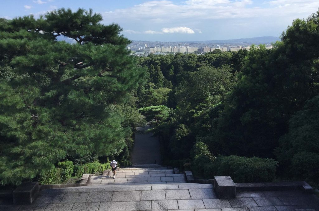 View from the Meiji mausoleum