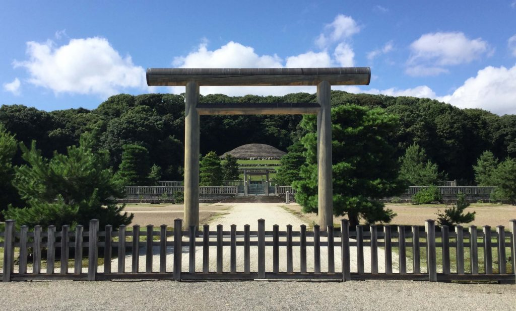 Meiji mausoleum, Momoyama, Kyoto