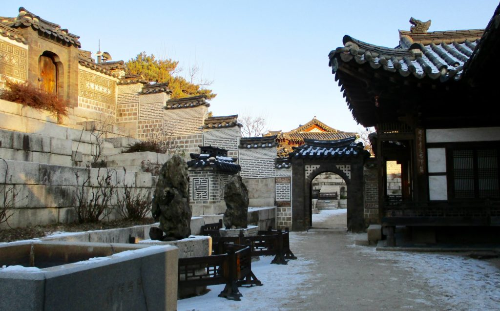 Winter at Changdeokgung
