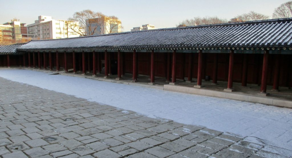 Winter at Changgyeonggung