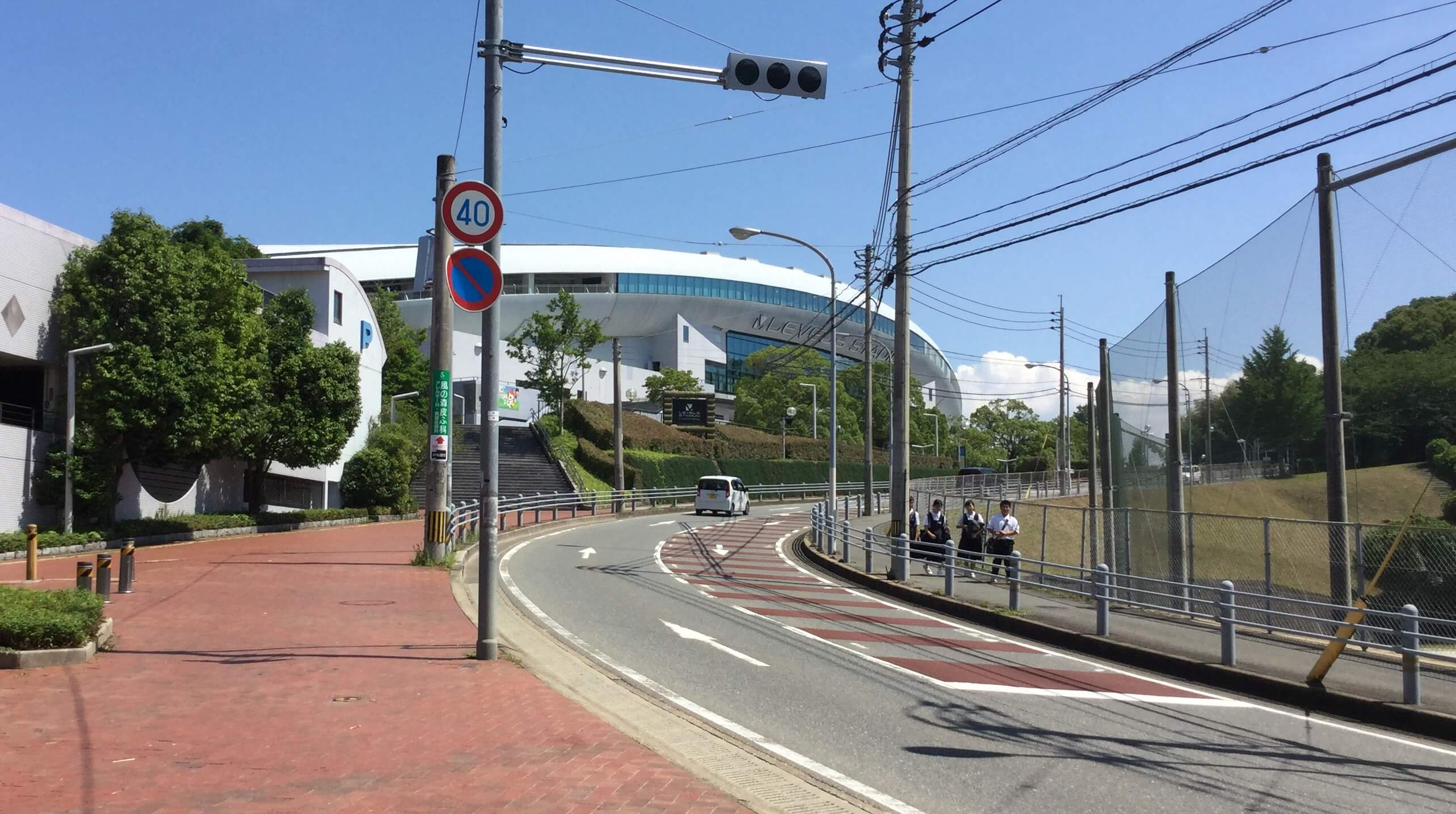 Way to Fukuoka Level 5 Stadium