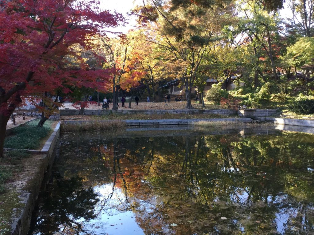 The Huwon Secret Garden at Changdeokgung