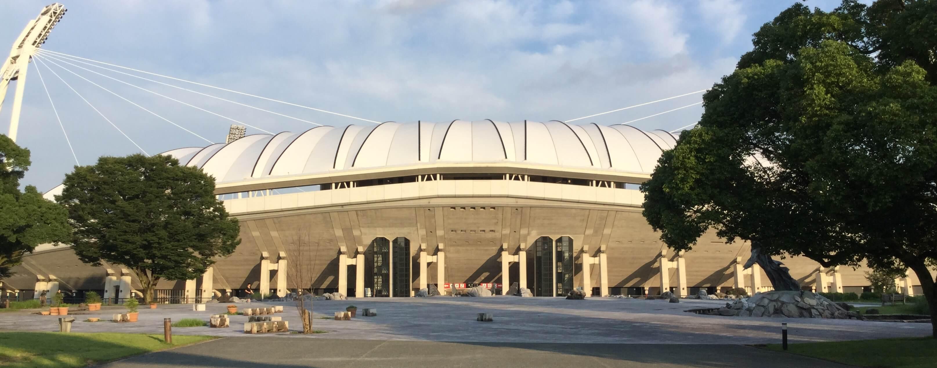 Way to Kumamoto Egao Kenji Stadium