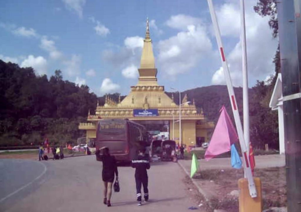 Yunnan Laos border crossing