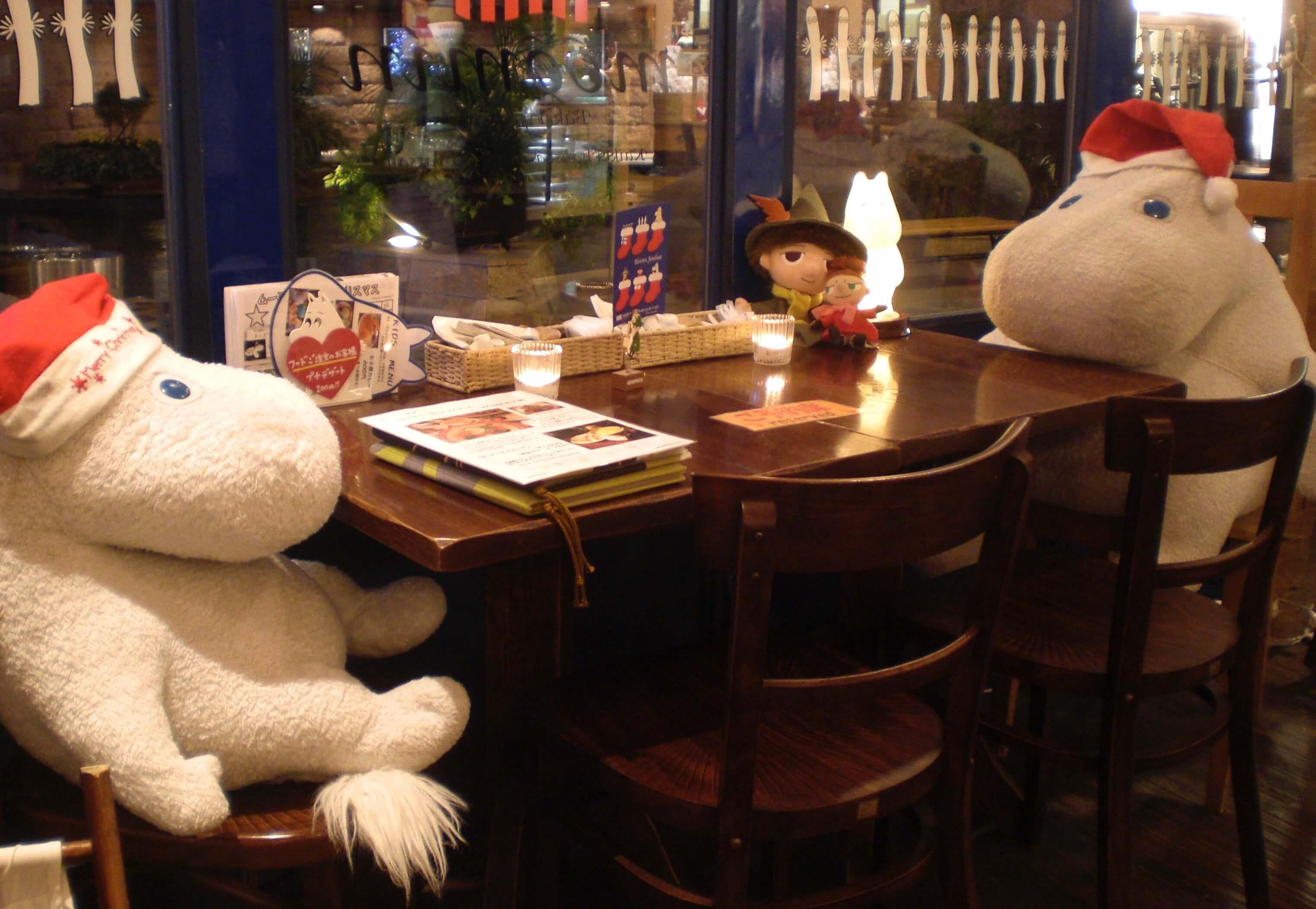 Moomin Cafe, Canal City, Fukuoka