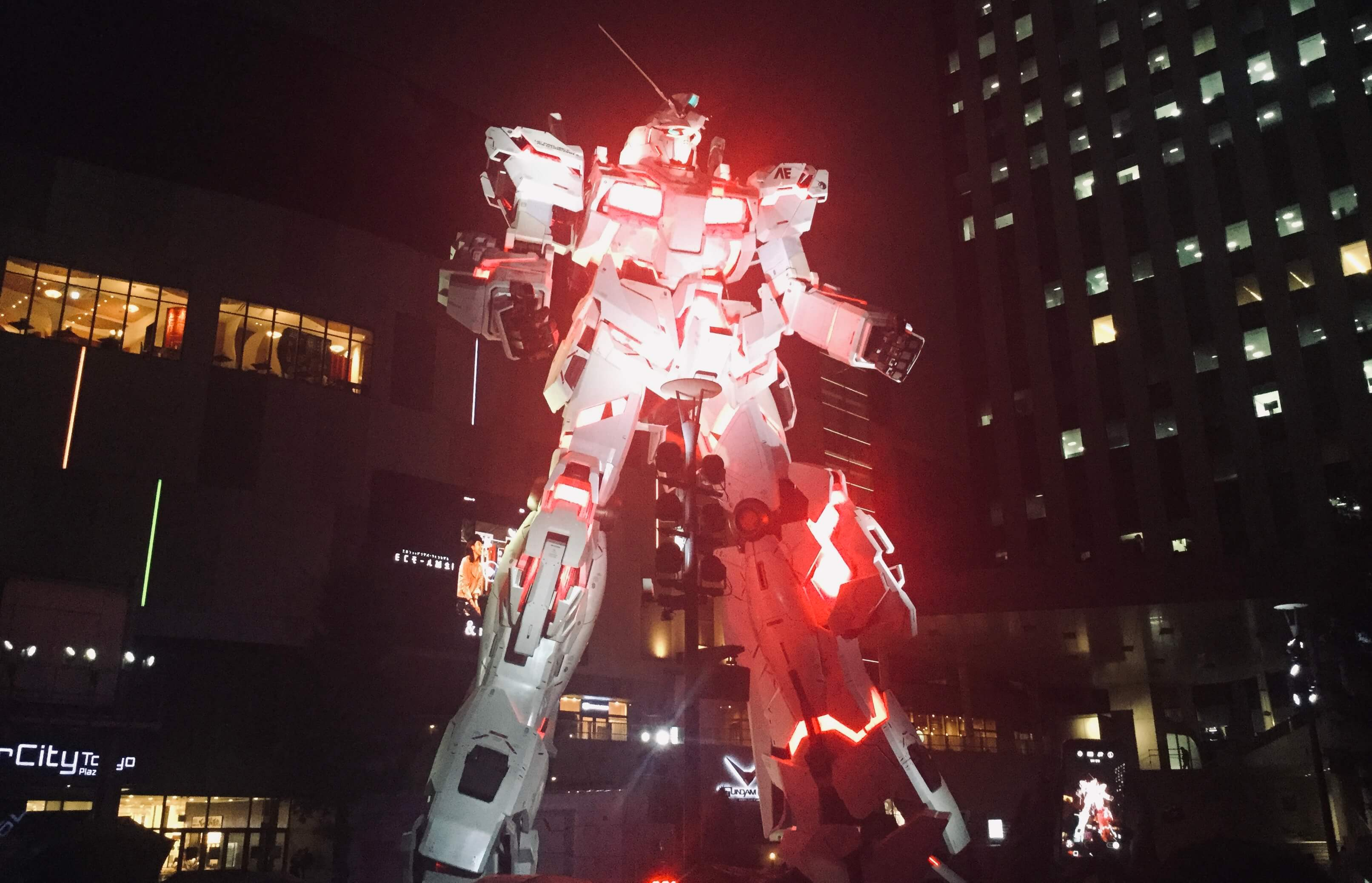Gundam statue, Odaiba, Tokyo